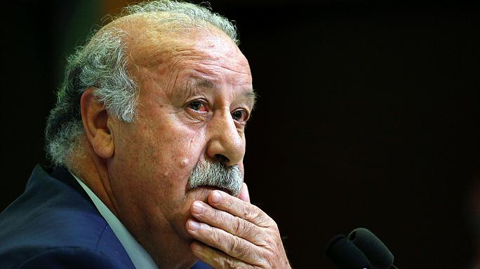 Del Bosque to step down as Spain coach after Euro 2016