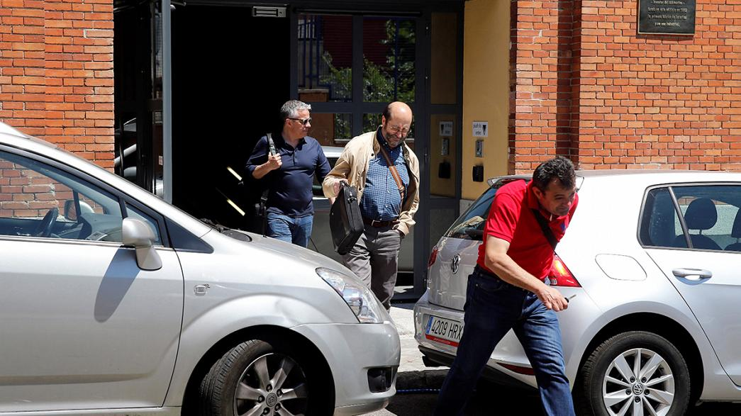 Google'ın Madrid ofisine polis baskını