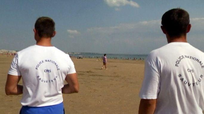 Nadadores salvadores da CRS vão andar armados a vigiar as praias francesas