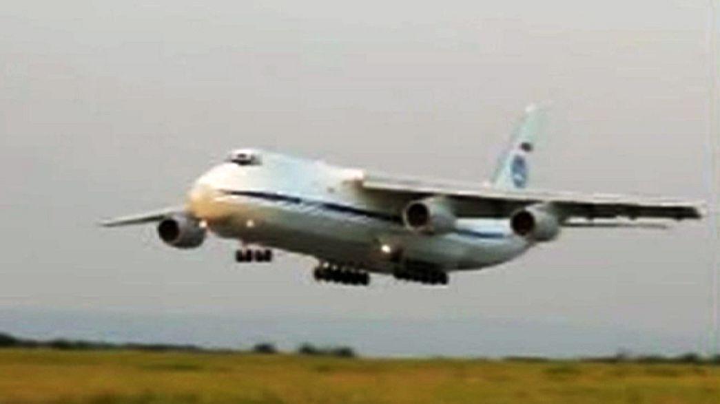 Rus İl-76 itfaiye uçağıyla irtibat kesildi