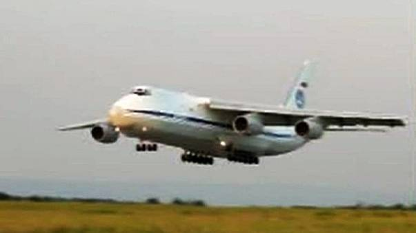 Firefighting plane lost in Russia