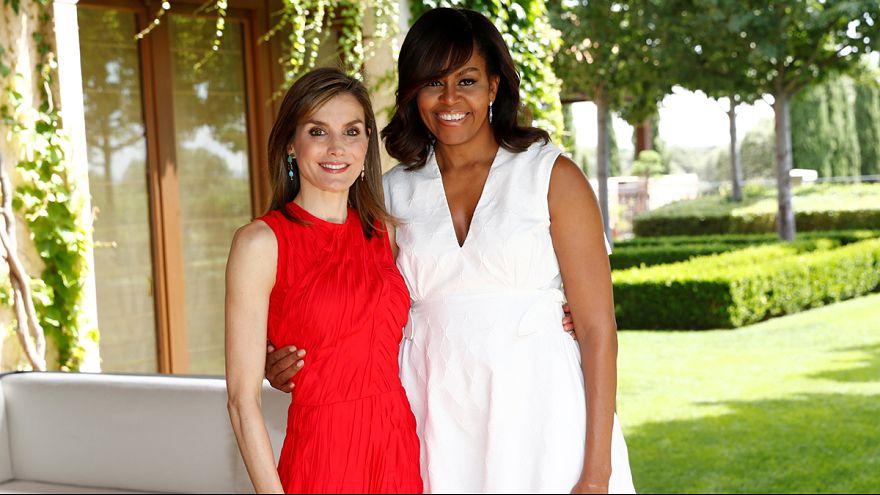 Michelle e Letizia