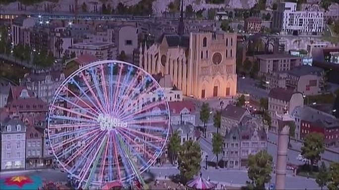 Lyon'un minyatür parkı ziyaretçileri bekliyor