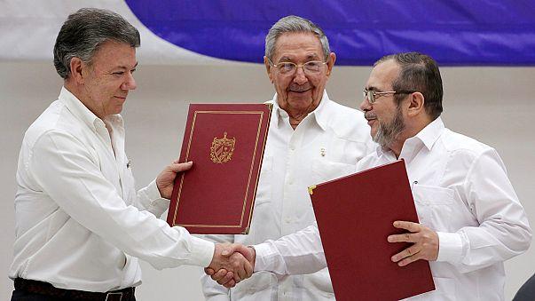 La Colombia verso la pace