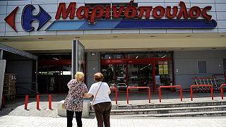 Grécia: Rede de supermercados Marinopoulos está sob proteção contra credores