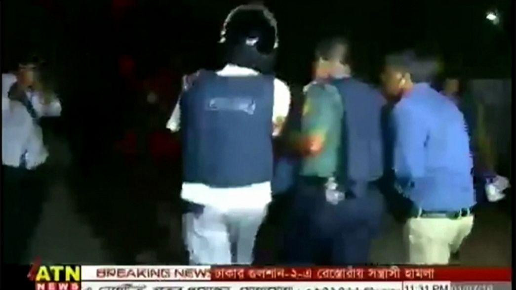 Bangladesh police storm Dhaka restaurant after gun attack and siege