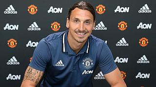[Photos] Ibrahimovic 'graces' Man United jersey
