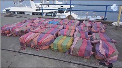 Angola battles increase in drug trafficking