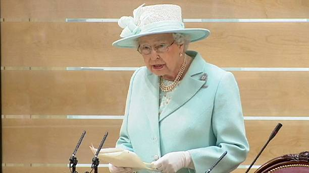 """Stay calm and collected"" - Queen tells Scottish parliament post Brexit"