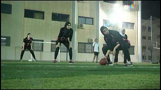 Women American football teams gain ground in Cairo