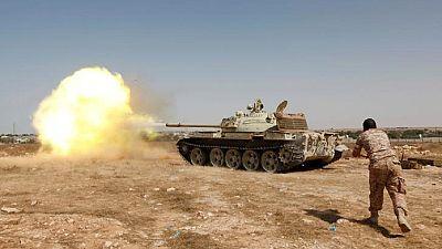 Violents combats à Syrte, en Libye