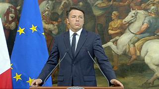 """Renzi and Abe condemn """"despicable act of terrorism"""""""