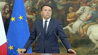Matteo Renzi y Shinzo Abe condenan la masacre de Daca