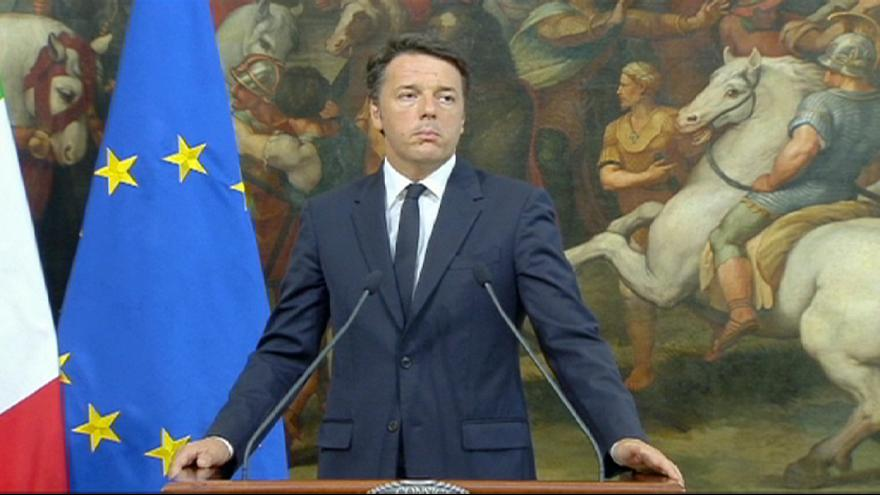 "Renzi and Abe condemn ""despicable act of terrorism"""