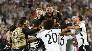 Deutschland nach Elfmeterschießen gegen Italien im EM-Halbfinale