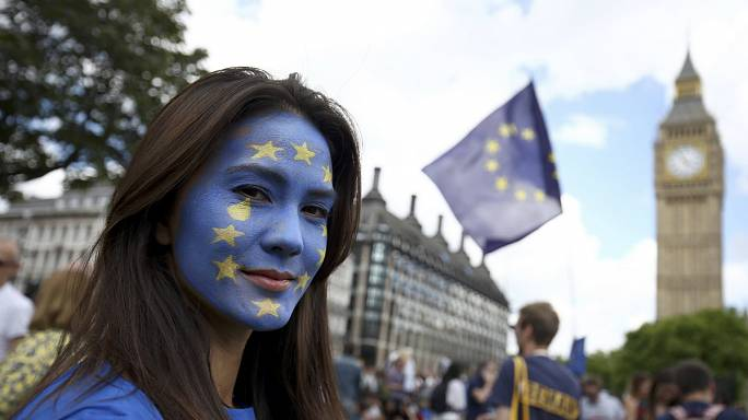 'We love EU' - Briten gegen den Brexit