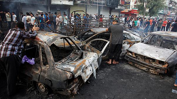 قتلى وجرحى جراء تفجيرين في بغداد