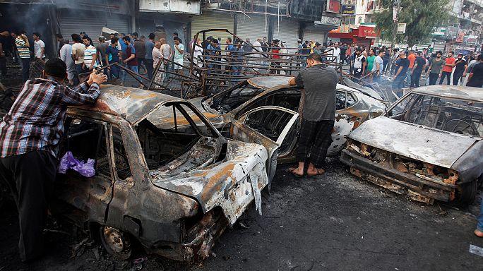 Terror im Irak: Dutzende Tote bei Anschlägen in Bagdad