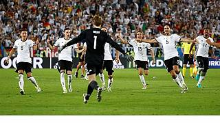 Germany beat Italy 6-5 in shootout to reach semis