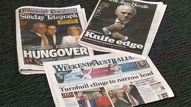Avustralya'da seçim sonucu koalisyona işaret ediyor