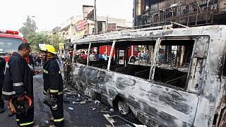 More than 125 people dead in overnight bombings in Baghdad