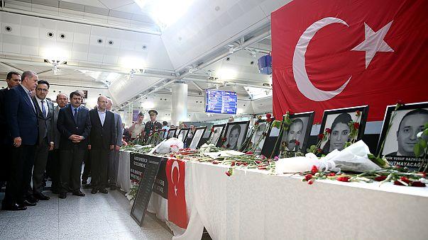 Atatürk Havalimanı saldırısının şüphelileri adliyeye sevk edildi