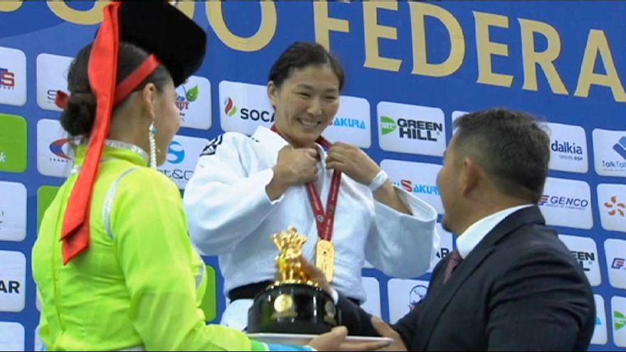 Última jornada del Gran Premio de Ulán Bator de judo