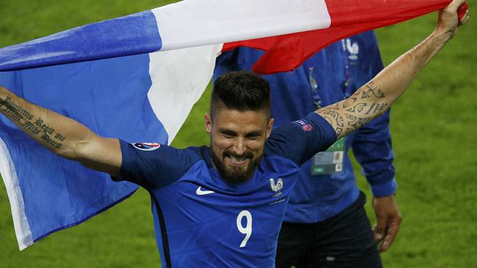 Francia despierta de golpe a Islandia con una contundente victoria