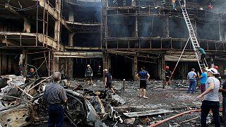 Terror im Irak: Mehr als 100 Tote bei Anschlägen in Bagdad