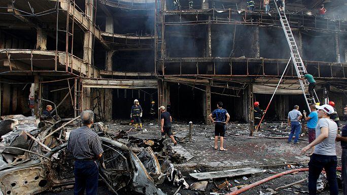 Nighttime Baghdad bombings kill and wound hundreds celebrating Ramadan