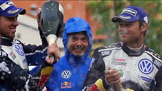 Polen-Rallye: Mikkelsen fährt auf Platz eins