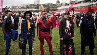 High end fashion and horse racing create a perfect mix at South Africa's Durban July