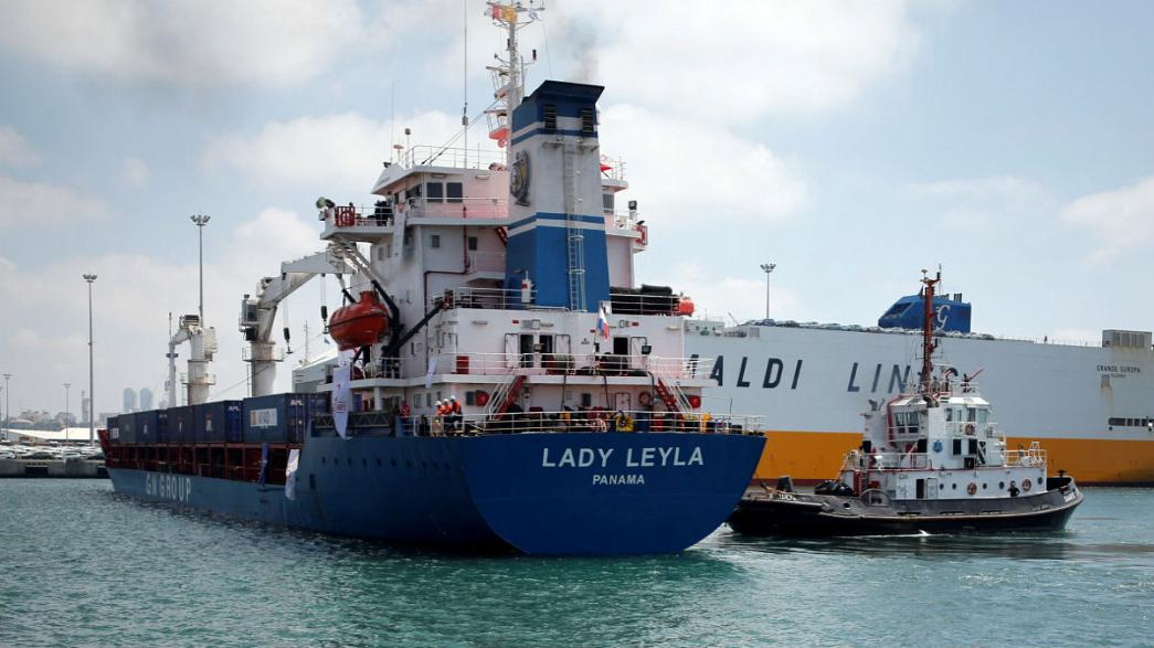 """""""ليدي ليلى"""" السفينة التي تطمح إلى كسرحصار غزة"""