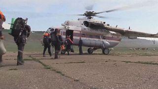 الإنقاذ الروسية تعثرعلى بقايا طائرة مكافحة الحرائق