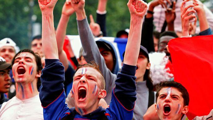 Euro 2016: Francia, en semifinales tras frenar a Islandia con una erupción de goles