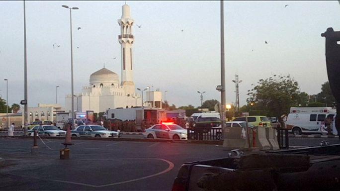 إنتحاري يفجر نفسه قبالة القنصلية الأميركية بمدينة جدة