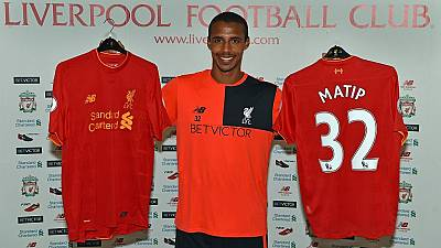 Liverpool sign Cameroonian international Joel Matip