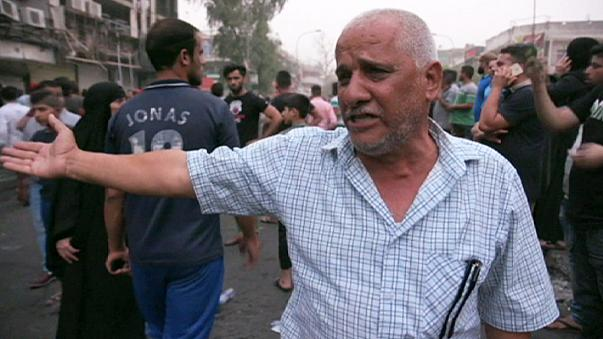 Grief and anger on the streets of Baghdad