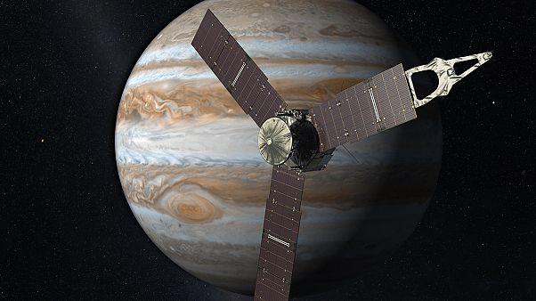 Το σκάφος Juno θα τεθεί σε τροχιά γύρω από τον Δία τα χαράματα της Τρίτης! (video)