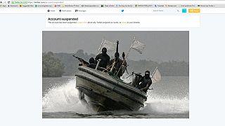 Twitter a suspendu le compte des Vengeurs du delta du Niger