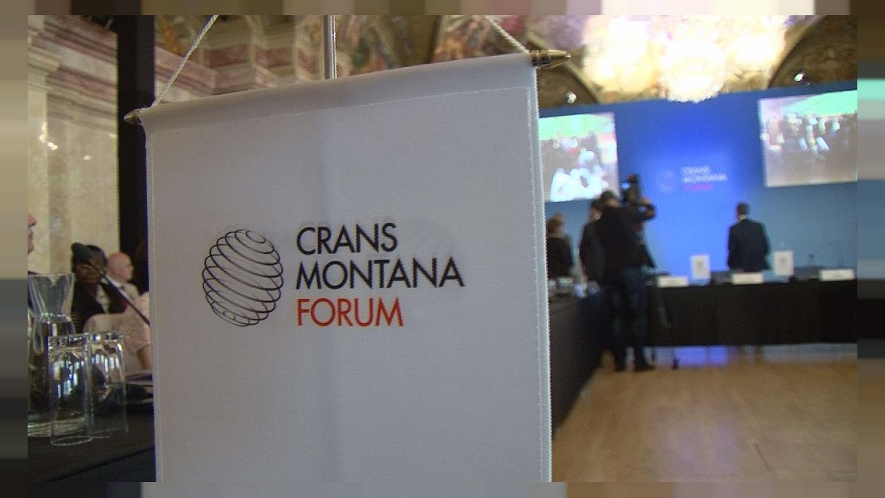 Big names get together at the Crans Montana Forum