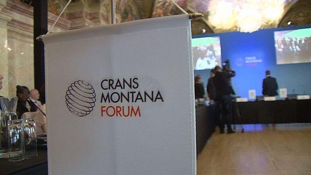 Big names get together at the Crans Montana Forum