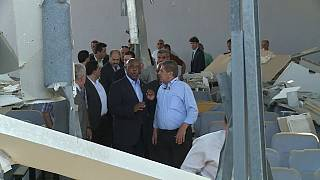 FIFA panel chairman Sexwale visits the Gaza Strip
