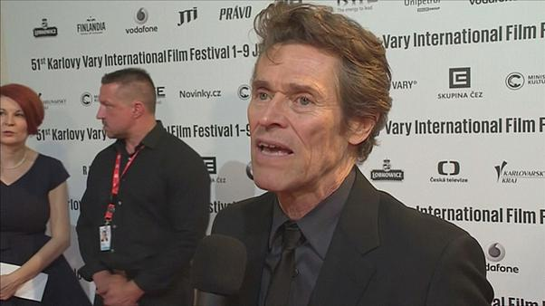 Karlovy Vary film festival honours Willem Dafoe with 'outstanding contribution' prize
