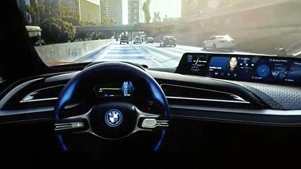 BMW разрабатывает беспилотный автомобиль вместе с Intel и Mobileye