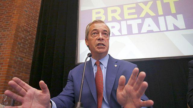 """Farage da """"Brexit"""" kararı aldı"""