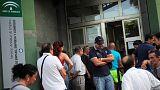 El paro baja en España a niveles de septiembre de 2009, en plena temporada turística