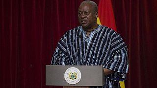 Ghana's president pardons close to 900 prisoners