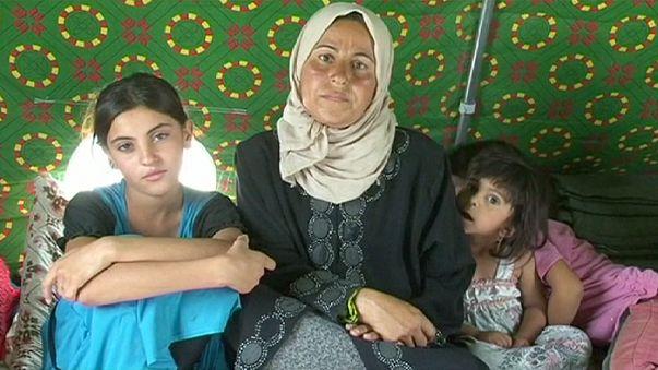 Dans les camps de Fallouja, la poussière du désespoir