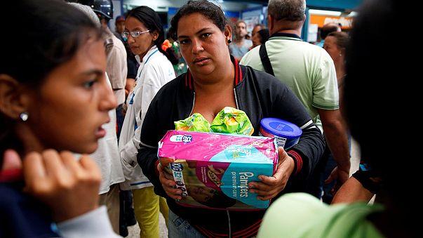 Venezuela kıtlığım eşiğinde
